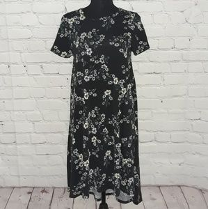 LuLaRoe Carly Sz: XS Floral Print Dress...